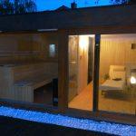 Domek saunowy - pokój do relaksu
