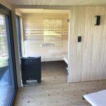 Domek saunowy - sauna sucha